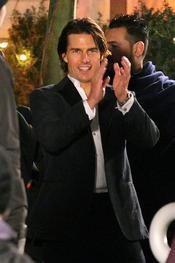 Tom Cruise, feliz con la visita de Suri y Katie Holmes