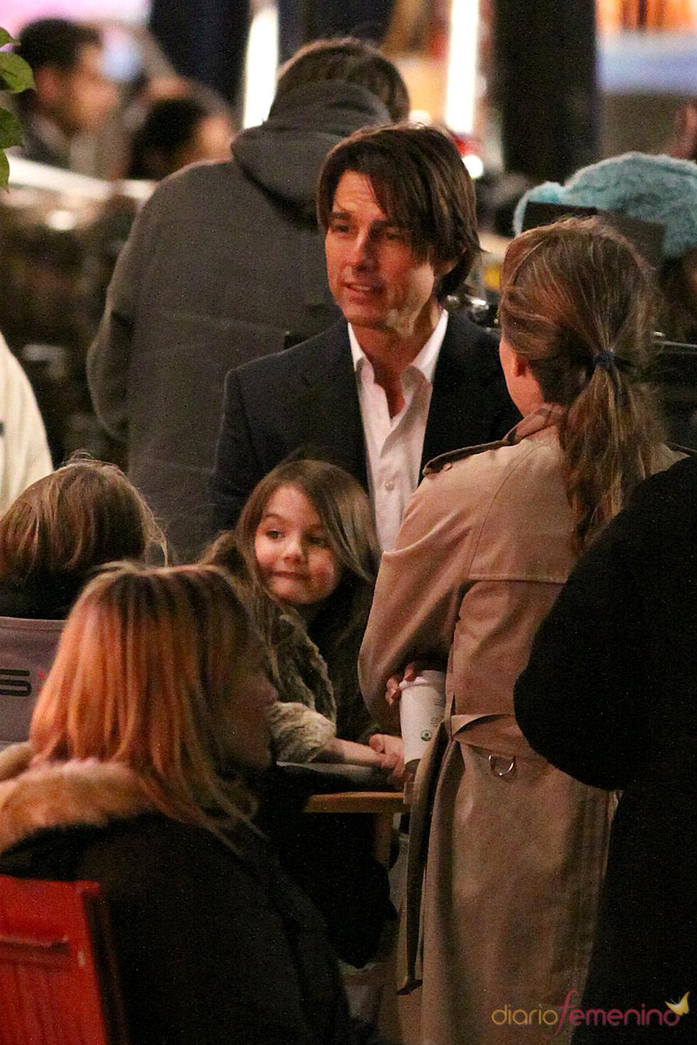 Tom Cruise, pasión por su hija Suri