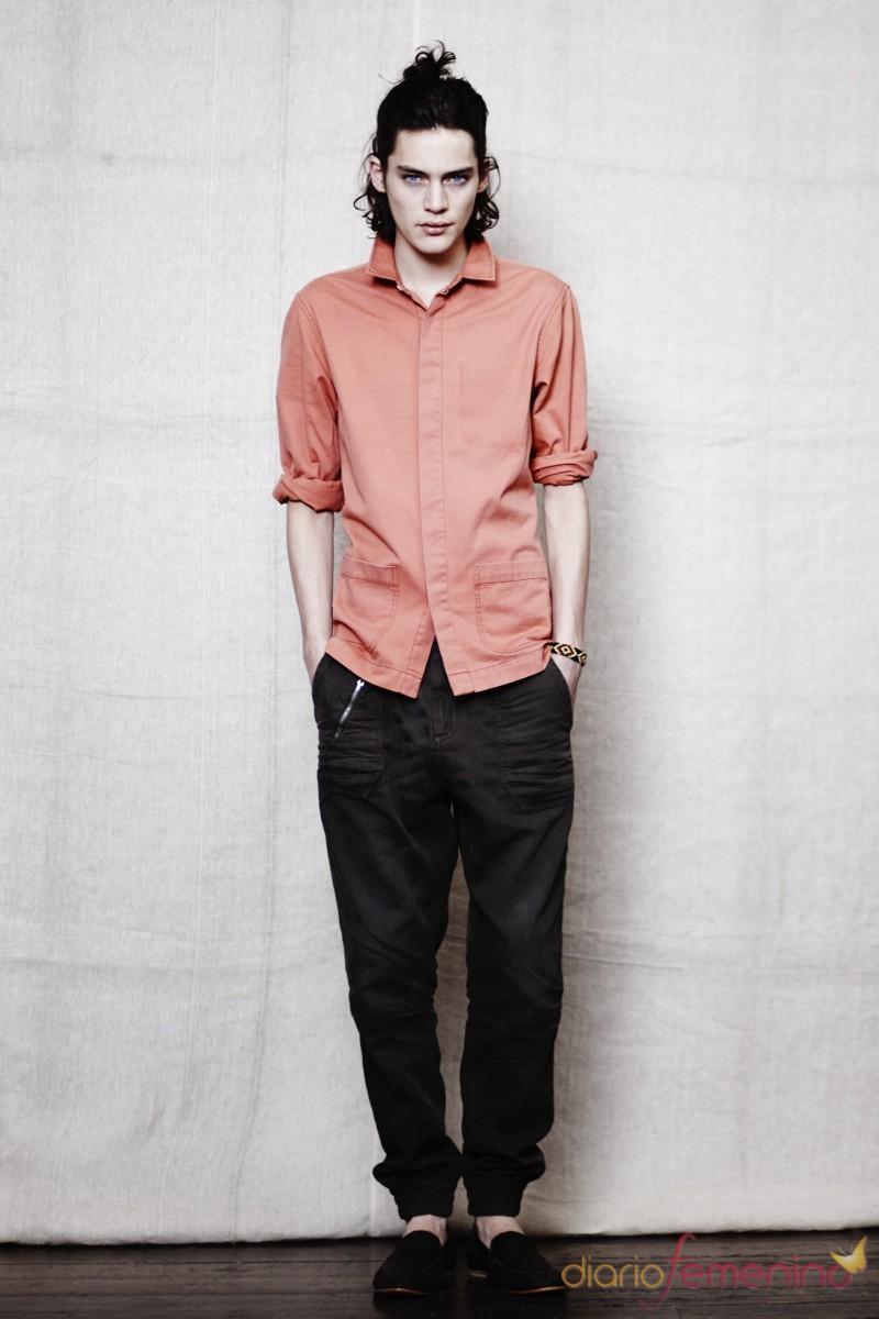 Camisa cálida p/v 2011 TopMan