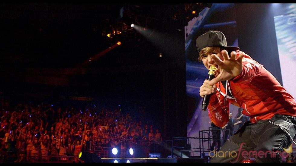 'Never say never', el estreno en el cine de Justin Bieber