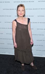 Lesley Manville en los Premios de la Junta Nacional de Críticos