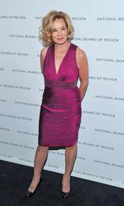 Jessica Lange en los Premios de la Junta Nacional de Críticos