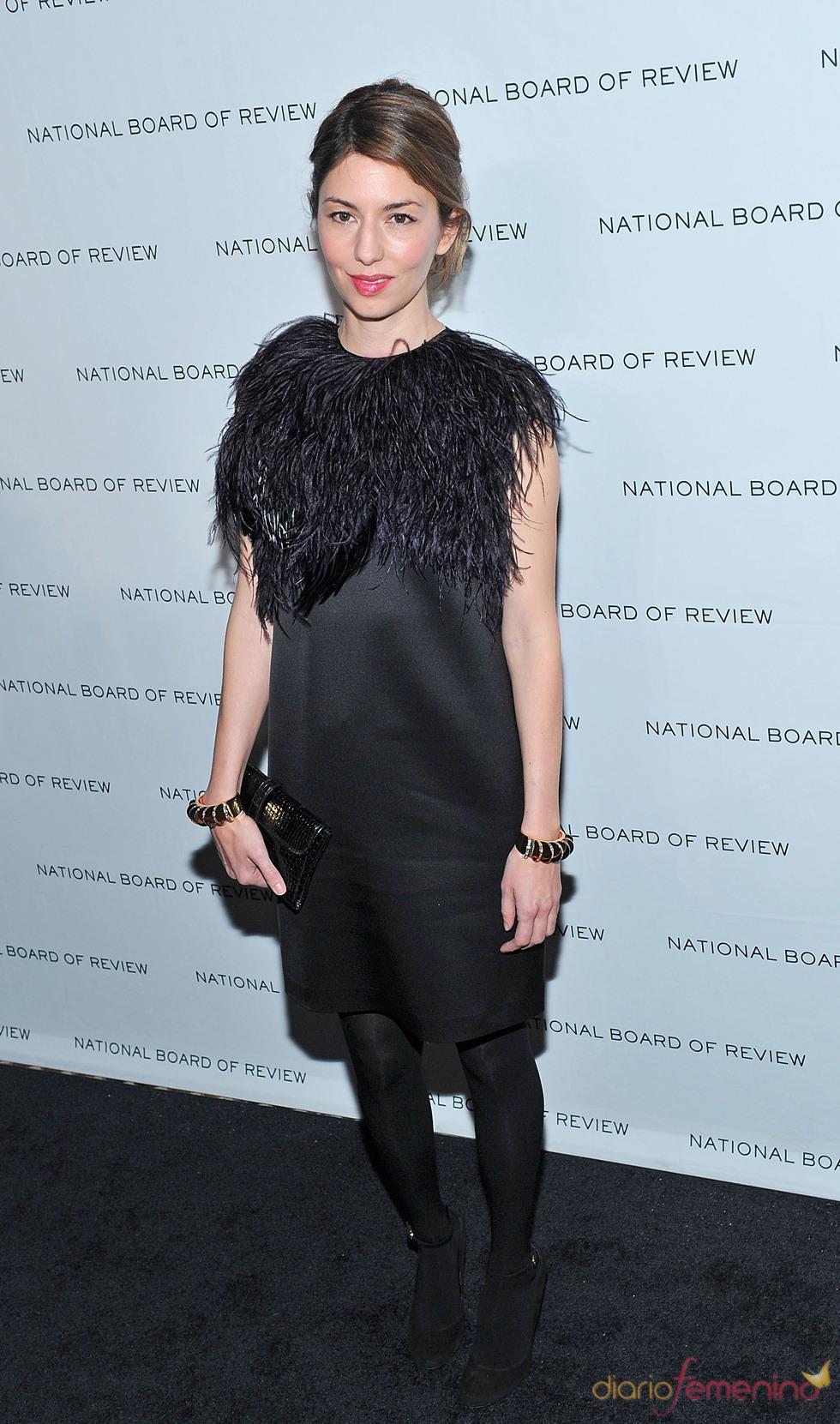 Sofia Coppola en los Premios de la Junta Nacional de Críticos