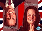 La boda de Guillermo de Inhlaterra y Kate Middleton, en cómic