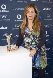 Arancha Sánchez Vicario en la presentación de los Premios Laureus