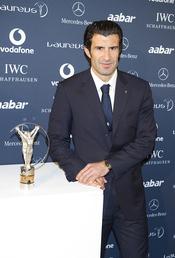 Luis Figo en la presentación de los Premios Laureus