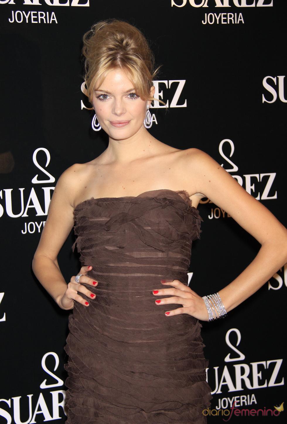 La modelo española Cristina Tosío
