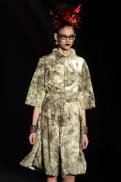 Peculiar estética de las modelos de Alessa en la Rio Fashion Winter 2011