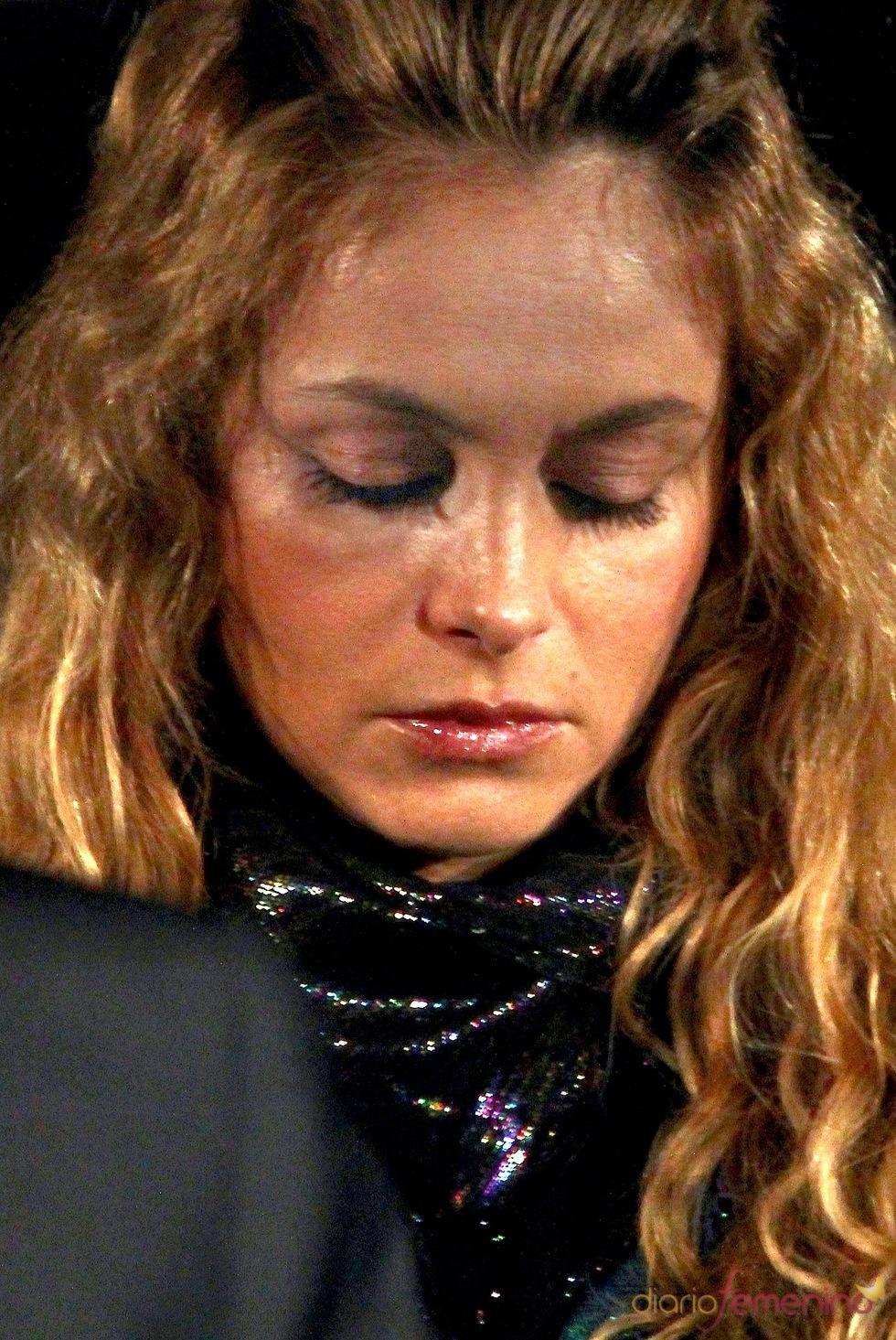 Paulina Rubio, desolada tras la muerte de su padre