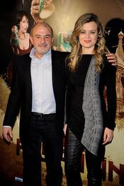 Jesús Bonilla y Carmen Arche en la presentación de 'La daga de Rasputín'