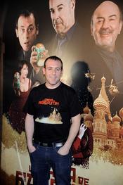 Antonio Molero en la presentación de 'La daga de Rasputín'