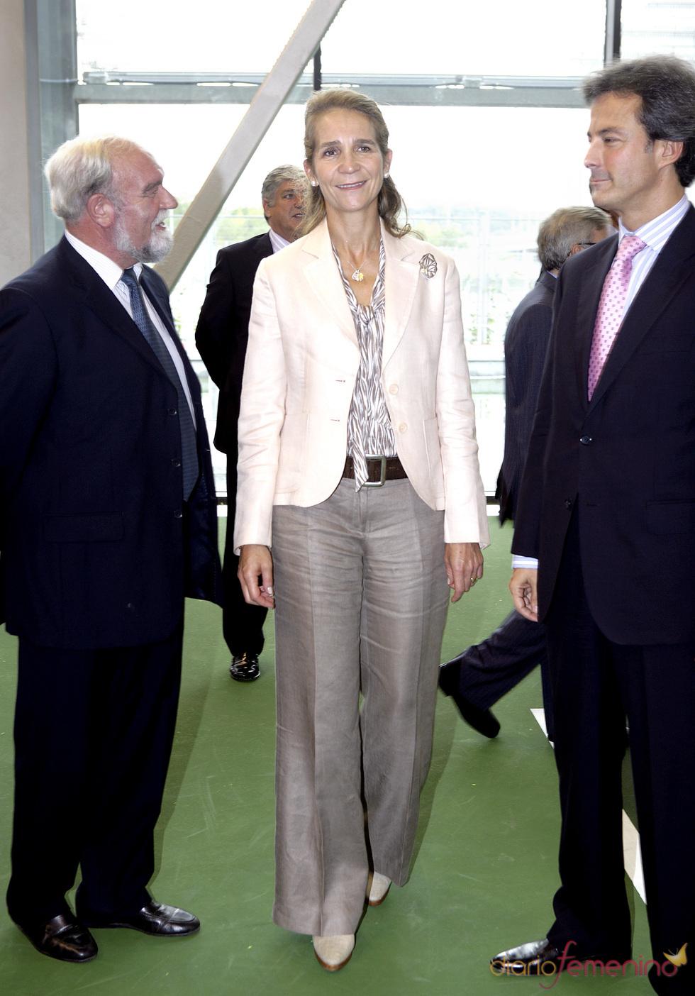 La Infanta Elena con Fernando Garrido