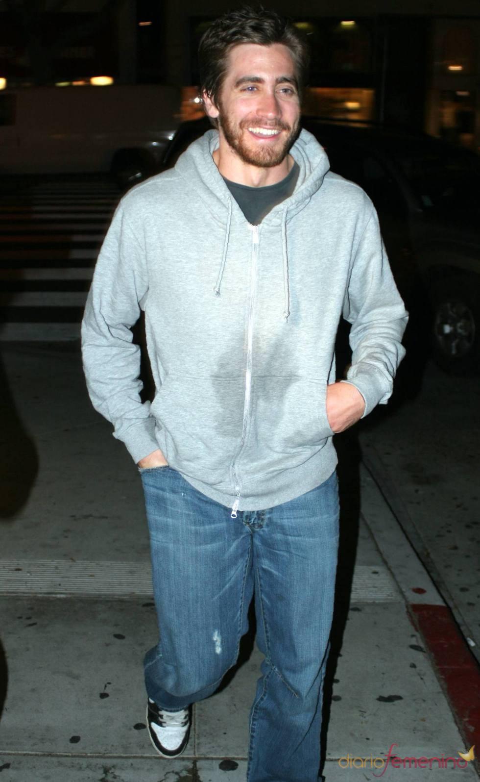 Jake Gyllenhaal, borracho por Santa Mónica