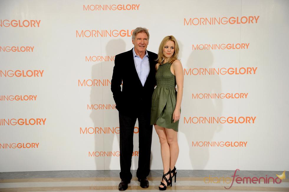 Harrison Ford y Rachel McAdams en Madrid