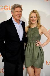 Harrison Ford y Rachel McAdams dan lecciones de periodismo en Madrid
