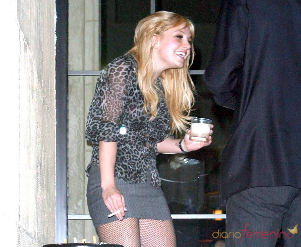 Britney Spears, borracha en una fiesta en Los Ángeles