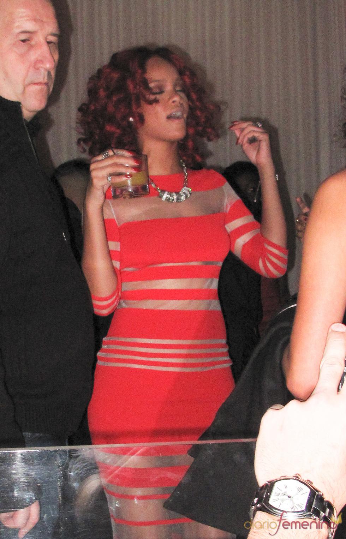Rihanna, borracha en Las Vegas