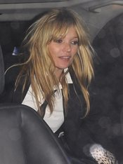 Kate Moss, borracha tras una fiesta