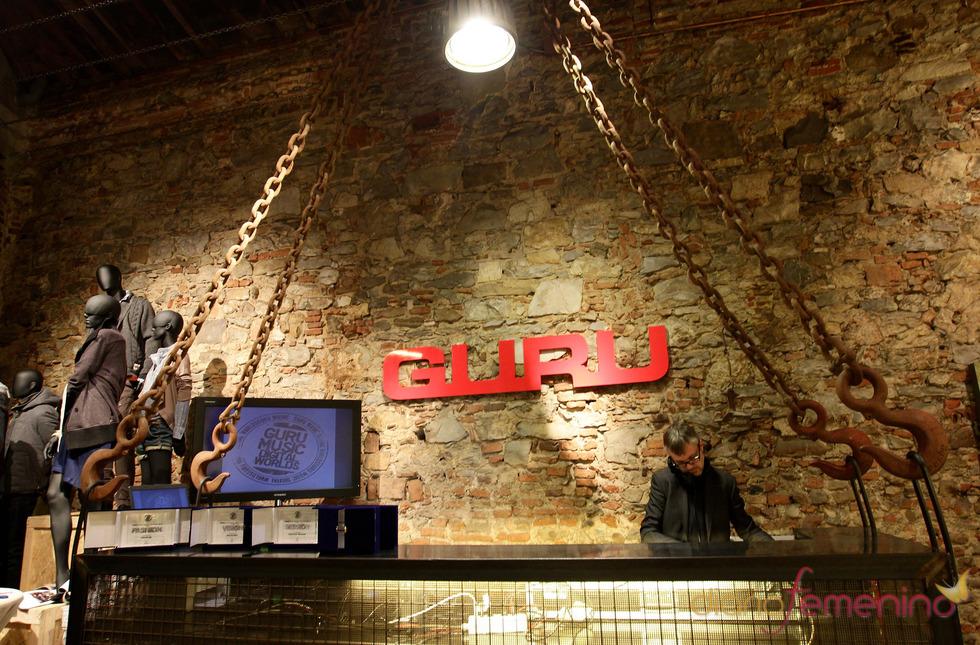 Inauguración de la tienda Gurú en Florencia durante la Pitti Uomo 79
