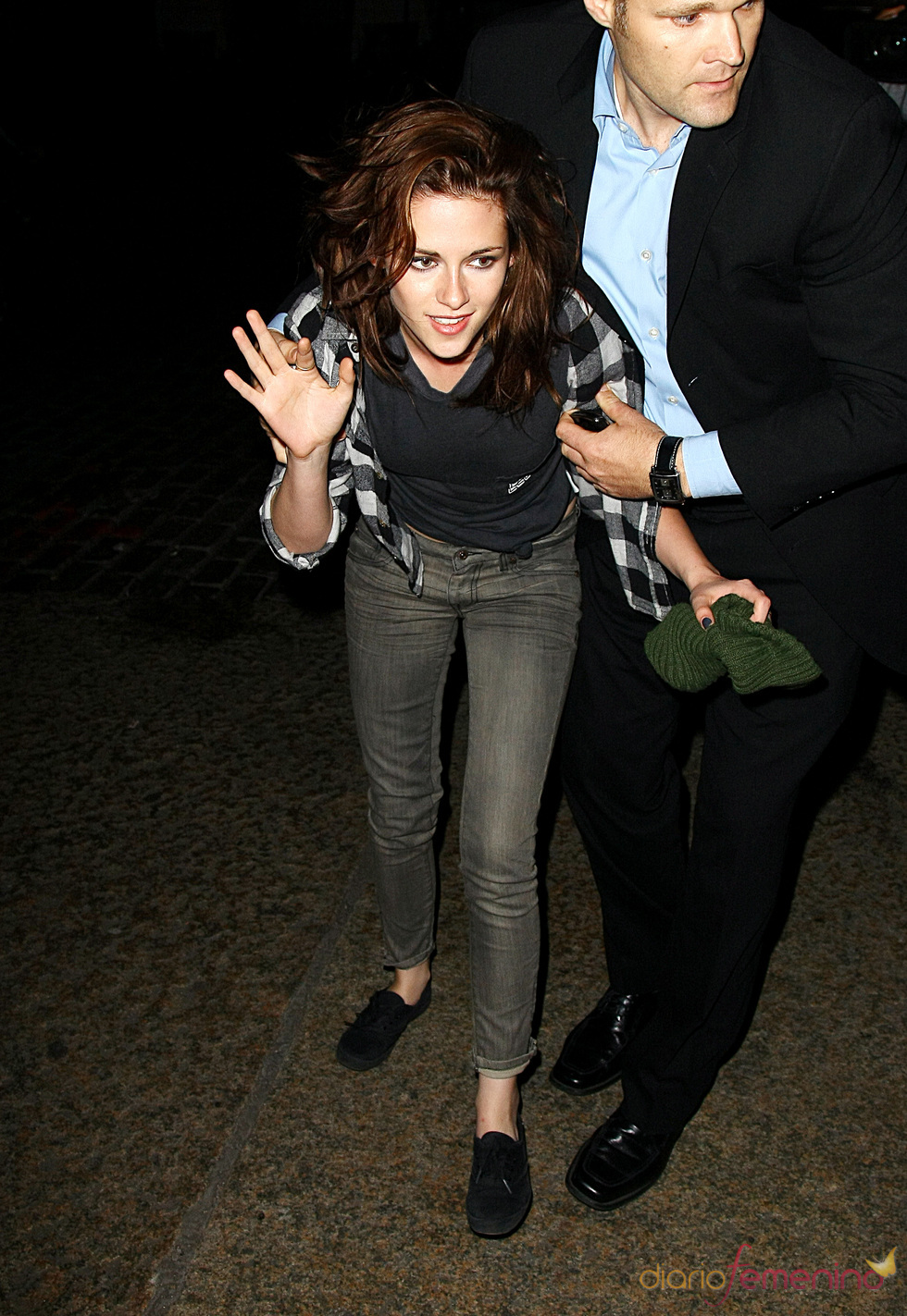 Kristen Stewart, borracha por Nueva York