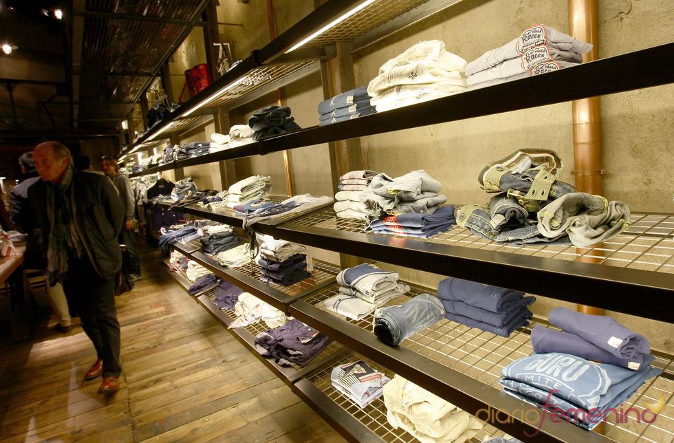 Interior de la nueva tienda Guru en Florencia