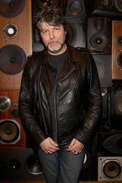 Claudio Cocoluto en la inauguración de la nueva tienda Guru en Florencia