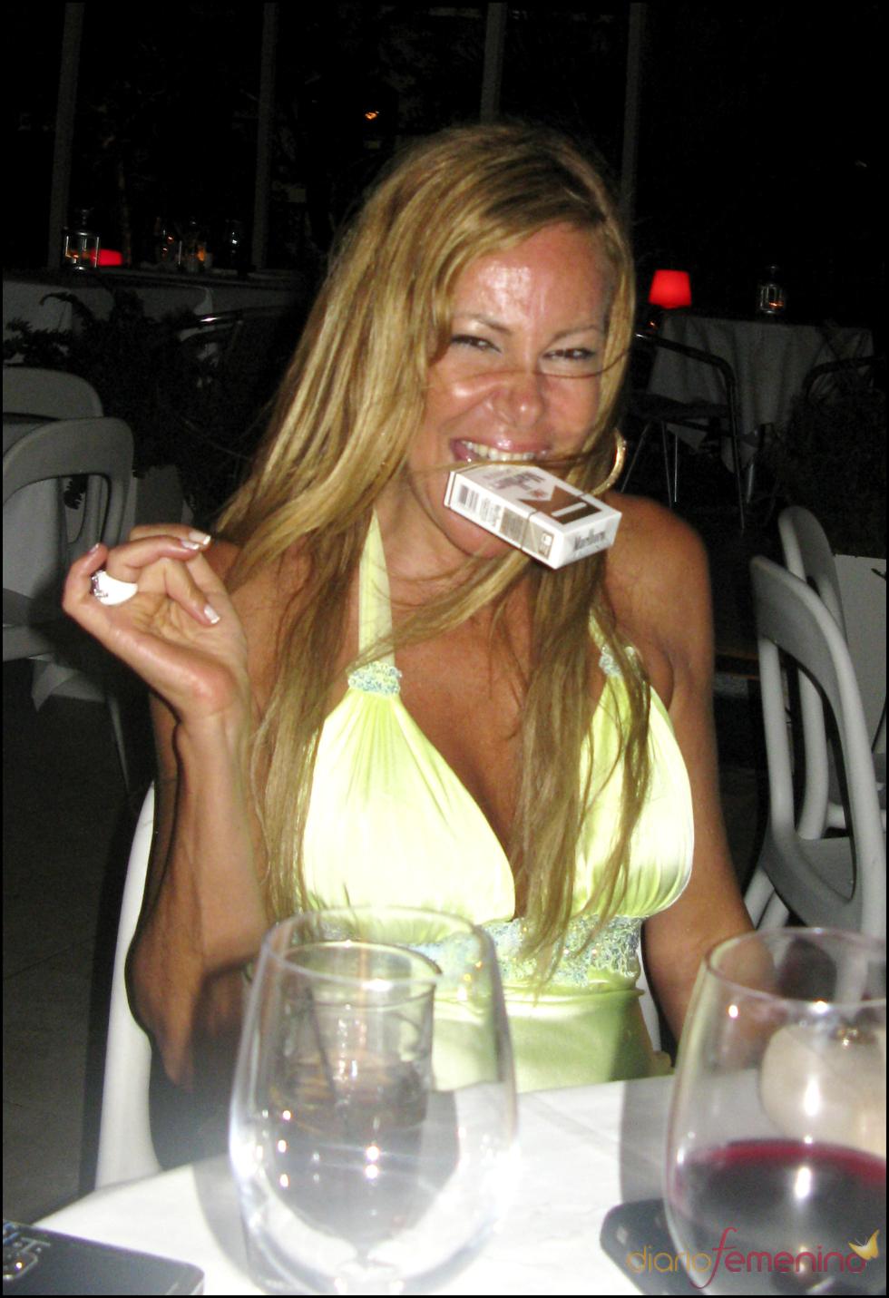 Ana García Obregón, borracha en una discoteca de Miami