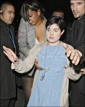 Kelly Osbourne, borracha en Londres
