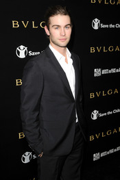 Chace Crawford en la gala benéfica de Bulgari