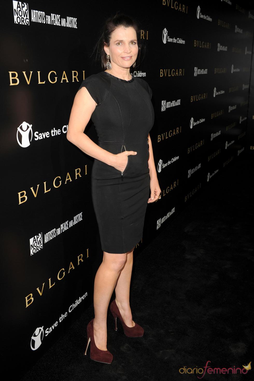Julia Ormond en la gala benéfica de Bulgari