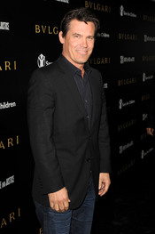 Josh Brolin en la gala benéfica de Bulgari
