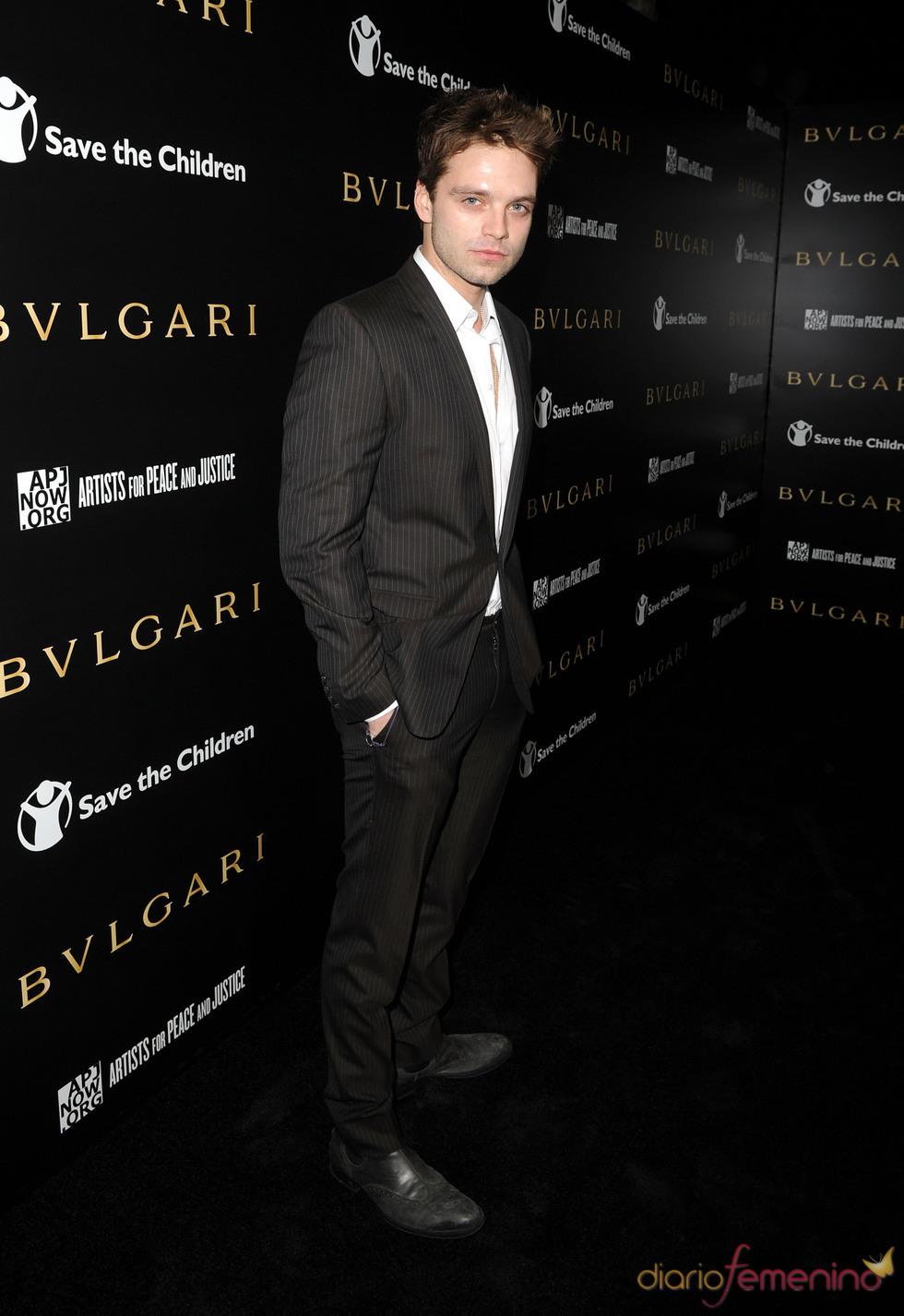 Sebastian Stan en la gala benéfica de Bulgari