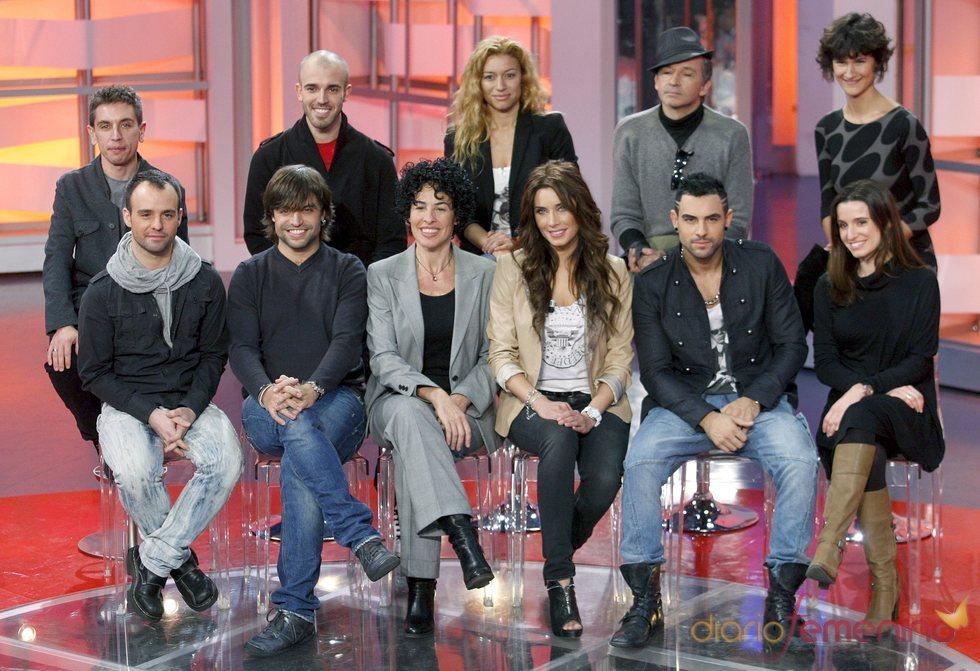 El equipo al completo de Operación Triunfo 2011