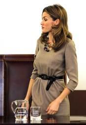 Primera aparición de la Princesa Letizia tras los rumores de embarazo