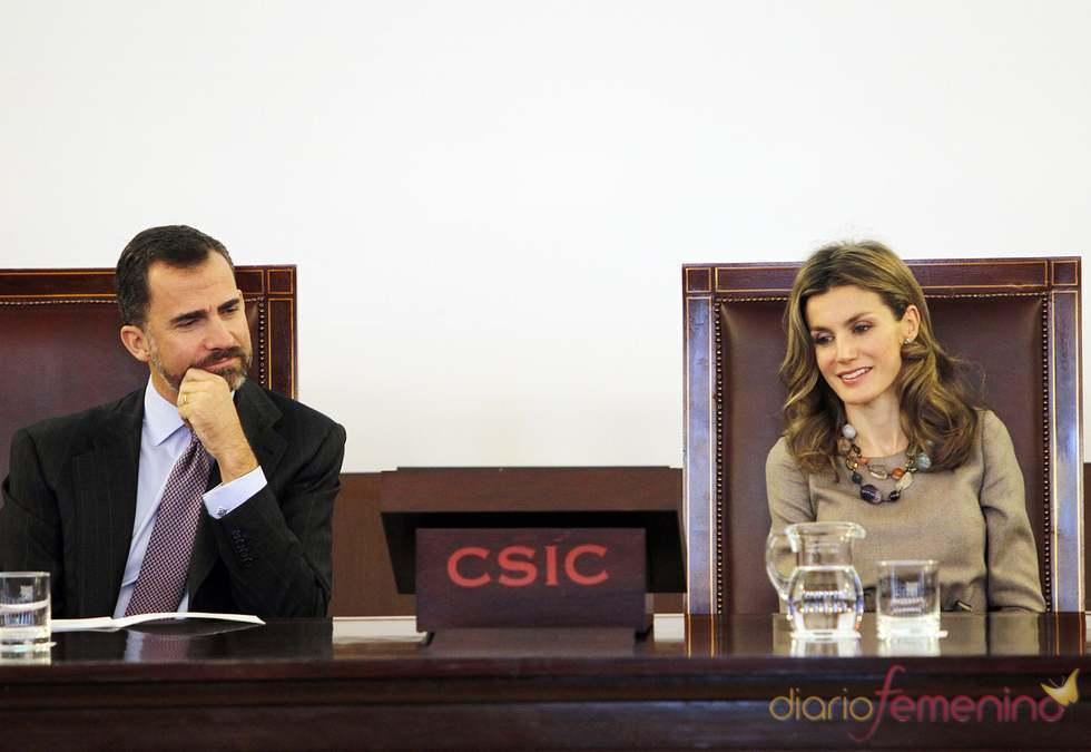 Los Príncipes de Asturias en los Premios 'Ciudad de la ciencia y la innovación'