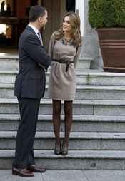 Los Príncipes de Asturias charlan muy cómplices