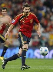 Gerard Piqué, un astro del balón