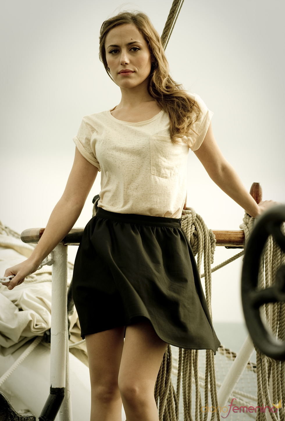 Irene Montalá en 'El Barco'