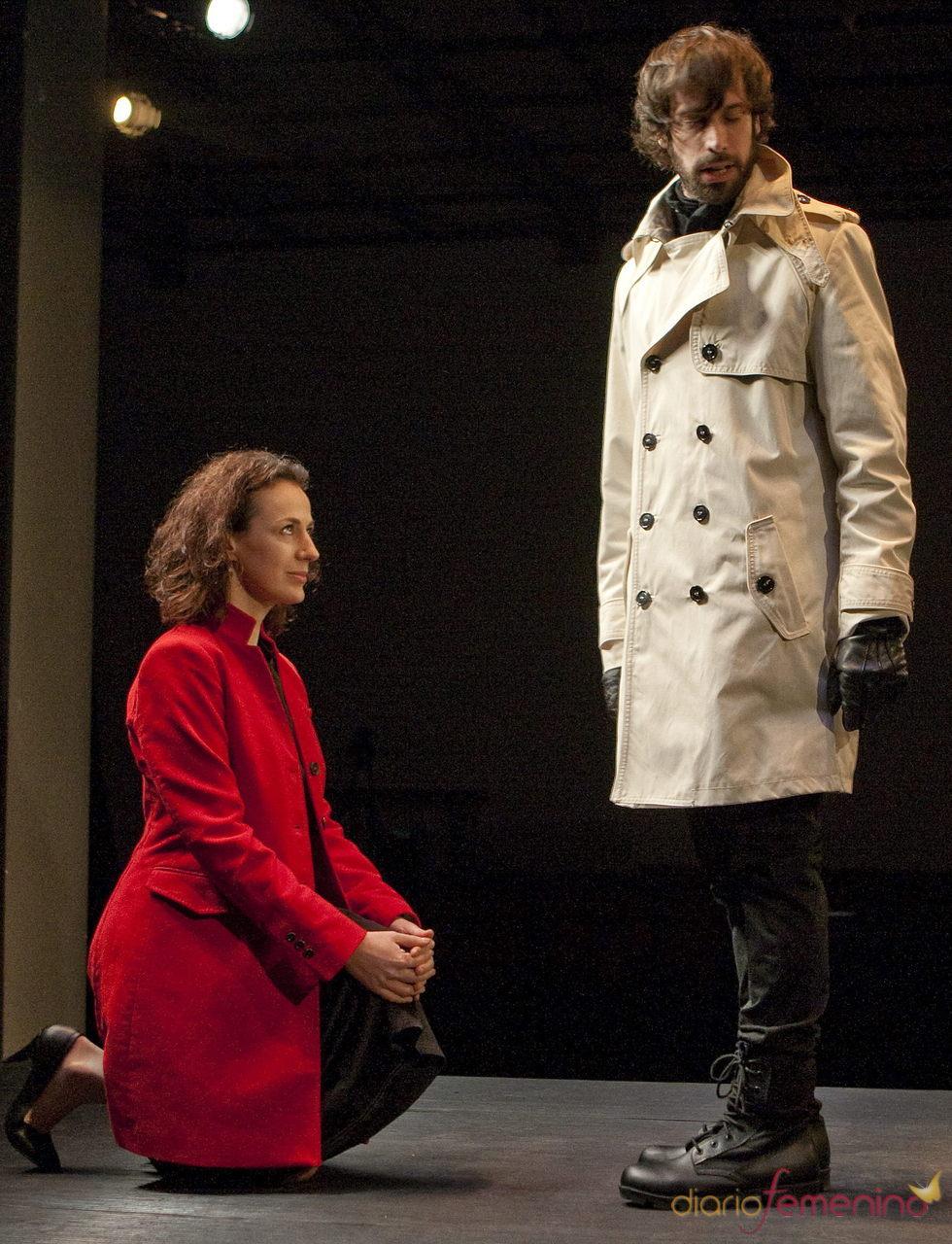 Laia Marti y Marc García actúan en la obra 'Macbeth'