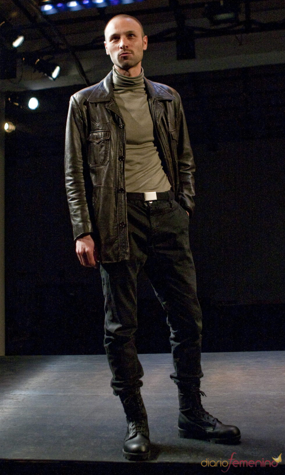 Jordi Brunet actúa en la obra 'Macbeth'
