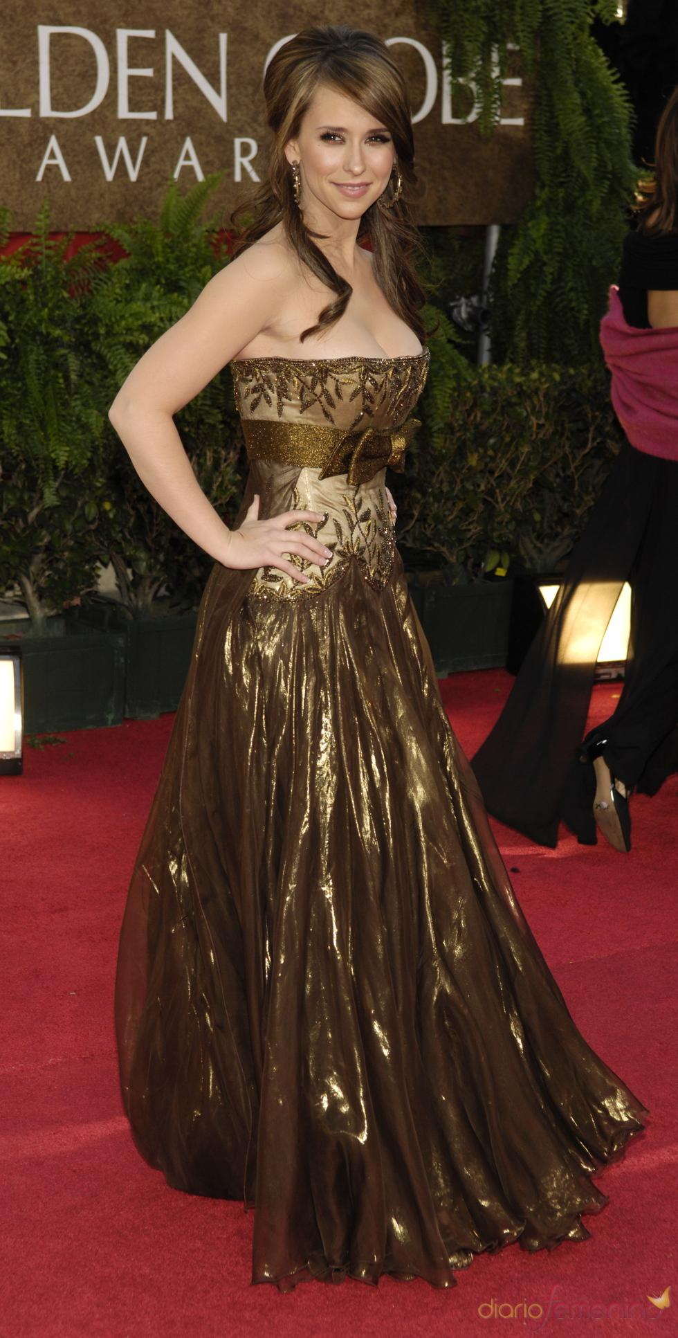 Jennifer Love Hewitt en los Globos de Oro 2007