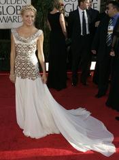 Sienna Miller en los Globos de Oro 2007