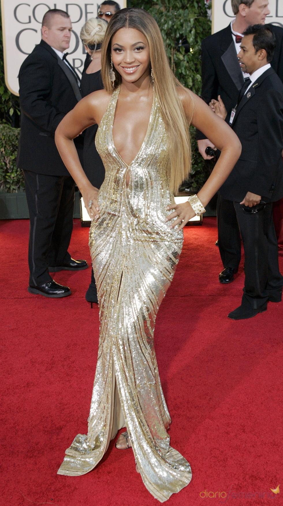 Beyoncé en los Globos de Oro 2007