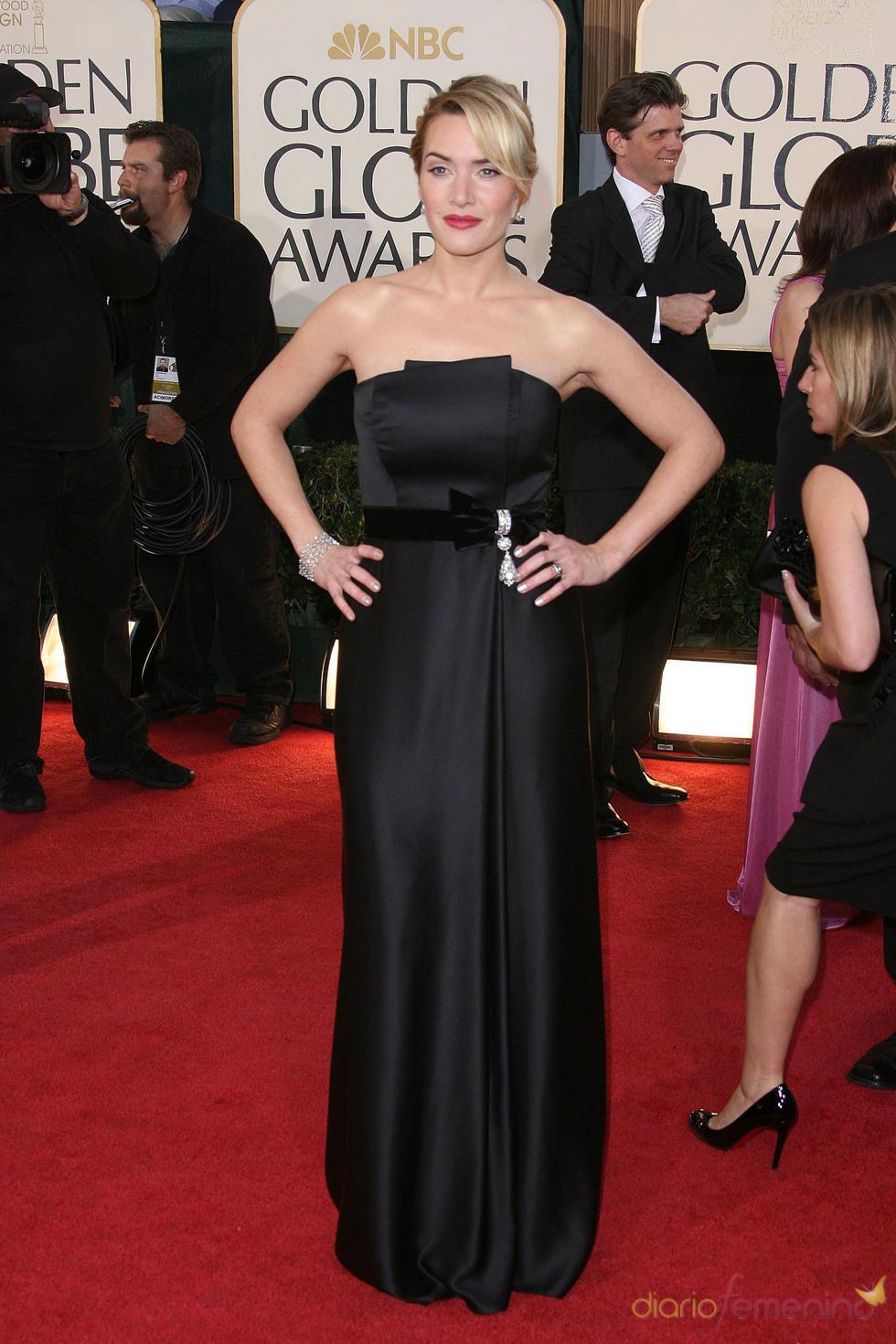 Kate Winslet en los Globos de Oro 2009