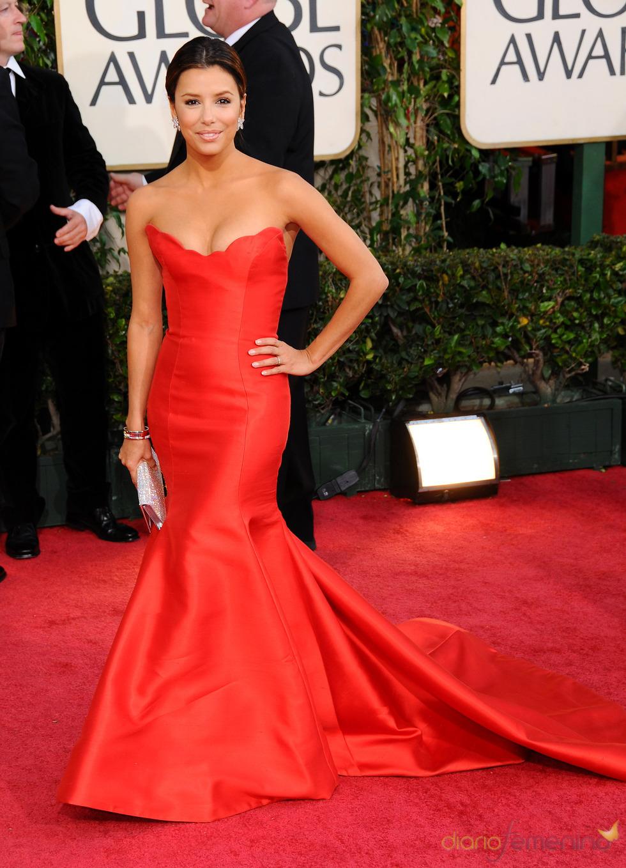 Eva Longoria en los Globos de Oro 2009