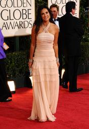 Demi Moore en los Globos de Oro 2009