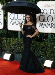 Penélope Cruz en los Globos de Oro 2010