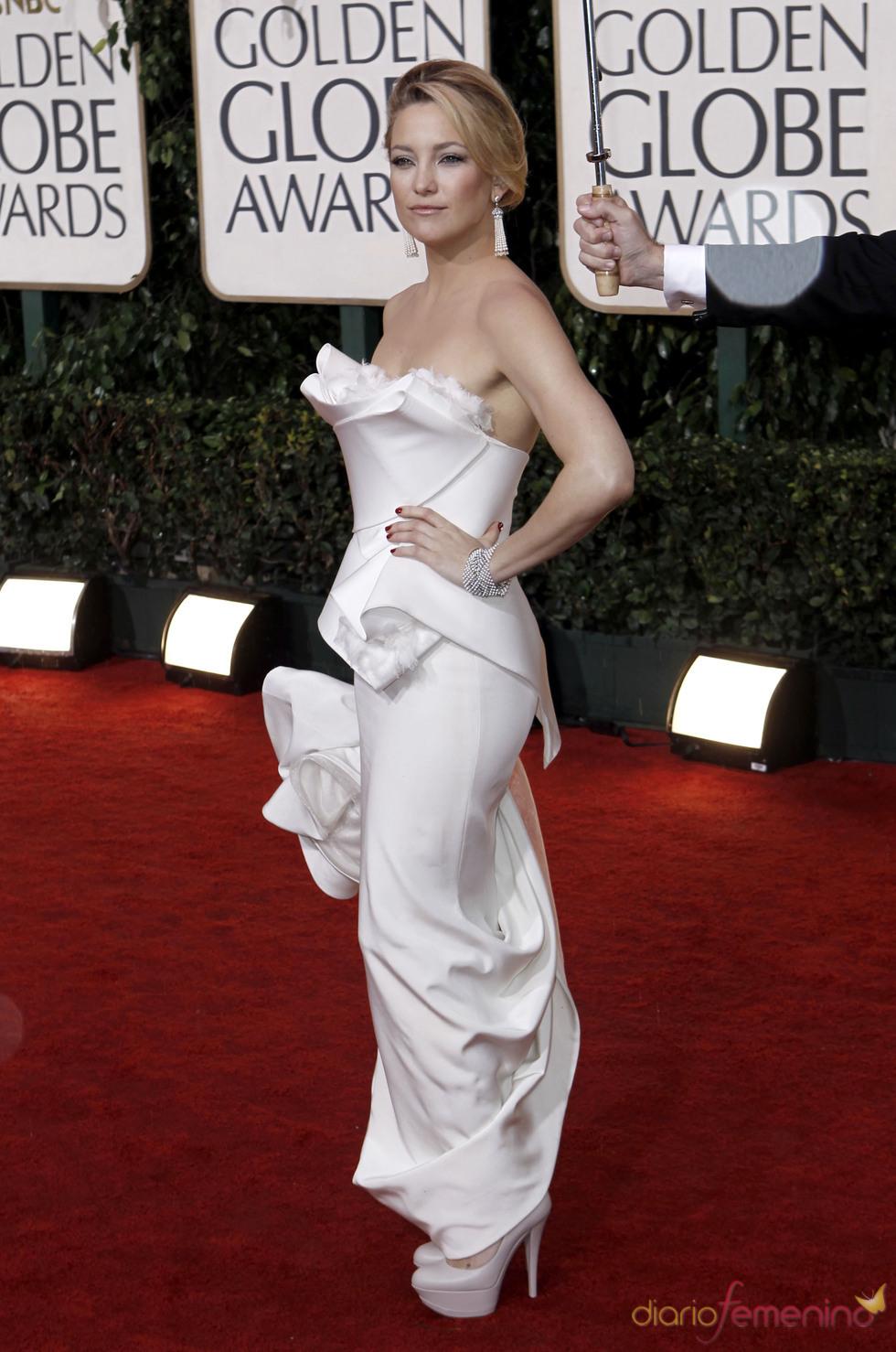 Kate Hudson en los Globos de Oro 2010