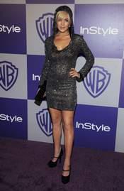 Lindsay Lohan en los Globos de Oro 2010