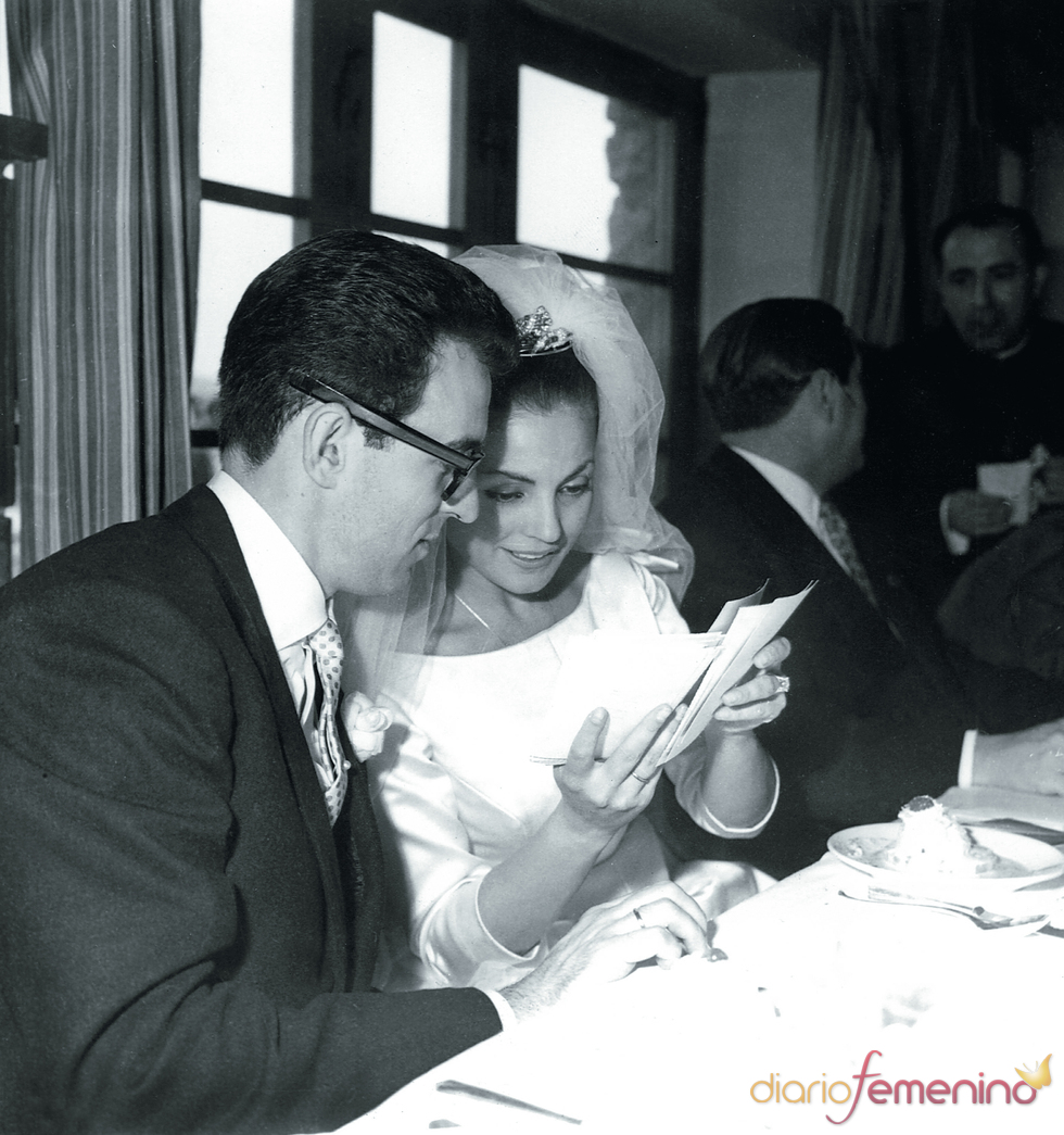 Carmen Sevilla y Augusto Alguero se casan